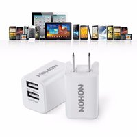 apple ipad usa - Original V A Port USB Charger NOHON Phone Power Adapter USA Canada Micro USB Wall Mobile Charger For iPhone s iPad Smart Phones