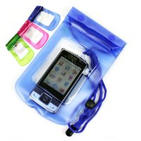 Cheap Practical Digital Camera Mobile Phone Waterproof PVC Bag Case Underwater Dry Pouch Sealed Bags Drop Shipping