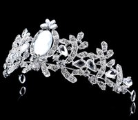 adorn diamonds - The bride crown wedding accessories The bride headdress alloy diamond crown Europe and the United States the bride adorn article