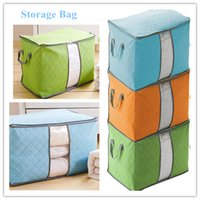 Wholesale nylon foldable shopping bag Household pouch storage bag quilt bags packaging bags High quality woven storage bags Home Supplies