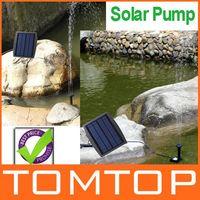 Bomba de agua de energía solar fuente decorativa para Garden Pond Water Pool Ciclo 7.2V Freeshipping