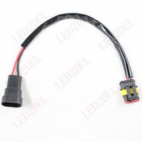 achat en gros de d1s d1c d1r-HID Xénon Ballast dédié D1 D1S D1R D1C à 9005 9006 Extension câble fil haute tension connecteur de câblage adaptateur