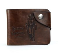 Cheap New 2014 Top Grade Brand Wallets Western Cowboy Hasp Genuine Leather Wallet for Men Bags Free Shipping Hot Sales Y50 M099#M5