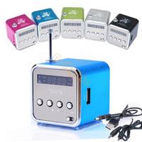 Wholesale Fashion Home Stereo Speaker Mini USB TF Card MP3 Music Portable Speakers FM Radio Digital Speaker SV001051
