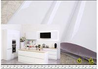 white bedroom furniture - 5meters white Waterproof furniture kitchen decoration renovates thickened sticker wardrobe cabinets self adhesive wallpape