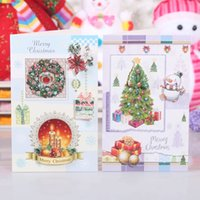 christmas cards - Party Supplies Christmas Decoration Greeting card for teacher friends children girt cards best wish merry christmas hot sale free DHL PX0142