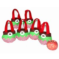 Wholesale Elf style Candy Bags Christmas Gift Bag Xmas Bag for Children Christmas Decoration Supplies