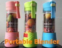 Wholesale 2016 New Electric Juice Cup Lemon cup Mini Portable fruit vegetable Blender with USB charger Fresh fruit Carry cup Gifts water bottles