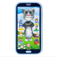 best baby phone - baby Toy Phones touch screen learning toy D music light story song best gift for baby top quality
