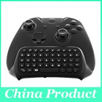 Cheap Bluetooth Mini Wireless Chatpad Message Game Controller Keyboard for Xbox One Controller with 2.4G Receiver 010211