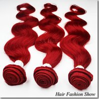Cheap Mongolian Hair ombre hair extensions Best Body Wave Under $30 Ombre Hair Weft
