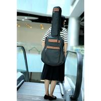 Wholesale 600D Nylon Water resistant quot Guitar Bag Backpack Adjustable Shoulder Straps Pockets mm Cotton Padded Durable Gig Bag Case
