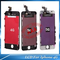 iPhone 4 4S phone display - Cell Phones Accessorious Repair Parts LCD Display Touch Screen Digitizer Full Assembly For iPhone S