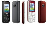 Wholesale 1pcs Hot sale red black blue original cell phones C1 dual sim card Refurbished