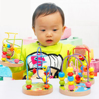 best educational pc games - 2015 New arrival Hot sale best quality Pc Hot Children Kids Baby Colorful Wooden Mini Around Beads Educational Game Toy F301