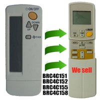 air conditioning remote control - Replacement for Daikin Air Conditioner Remote Control Model Brc4c151 Brc4c152 Brc4c155 Brc4c158 Daikin Air Conditioning Parts