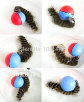 Wholesale 2pcs novetly pet toy kids toy beavers ball Weazel ball squirrel ball orginal design water proof