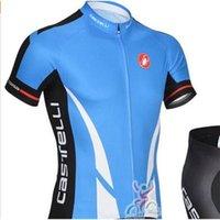 Wholesale Pro Team Summer Breathable Roupa Cycling Jersey Cycling Clothing Mountain Bicycle Jerseys GEL Pad Racing Bike Bib Shorts