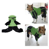 Wholesale Adjustable Water proof Dog Raincoat for Small Medium Sized Dogs Rain Jacket XL Pet Supply H15647