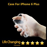 Wholesale Transparent TPU gel Crystal Clear mm Ultra thin soft Silicon Case for iPhone S S Plus Galaxy S3 S4 S5 S6 Edge