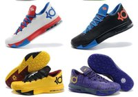 Cheap Kd 6 Mens Basketball Shoes Kd6 Sneakers Size 40-46 With Swoosh Tick Free Shipping