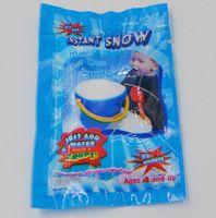 bag making supplies - Magic Prop DIY Instant Artificial Snow Powder Simulation Fake Snow Christmas party Decorations supply Top quality man made snow g bag