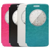Wholesale New Colors Stand PU Leather Case View Flip Cover Skin For Elephone P8000 Smartphone Cell Phone