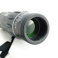 Wholesale Portable x52 Adjustable Dual Focus Zoom Optic Armoring Travel Monocular Telescope