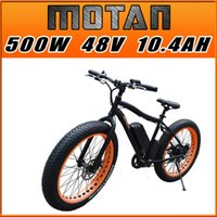 bicycle tire flat - In Stock Addmotor MOTAN M Sport Matte Black Orange Shimano Speed Fat tire W V AH quot Mountain Electric Bicycle