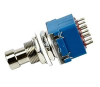 Wholesale Hot SALE PDT Effects Stomp Foot Switch Pin True Bypass Blue TK0179