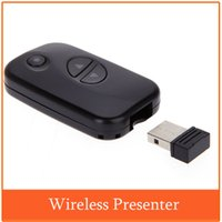 Wholesale Perfect Wireless Presenter with Red Laser Pointers USB Receiver m Romote Control PowerPoint PPT