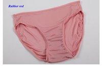 Wholesale Pure silk lady panties natural silk female breathable comfortable underwear women silk antibiotic seamless briefs