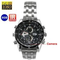 Wholesale SPY Watch Hidden GB P Night Vision Camera Mini DVR