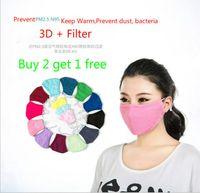 Wholesale Pure colors Cotton Masks Surgical Windproof Anti Dust Men Masks Flu Face Masks