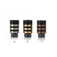 Wholesale Ecigares mm wide Bore e cigarette drip tip Wang word delrin drip tips Electronic Cigarette Mouthpiece