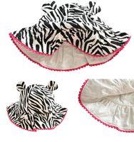 baby travel shop - New Cotton Cartoon Black Children Hat Baby Sun Hats Kids Warm Caps Travel Shopping Caps Child Hat
