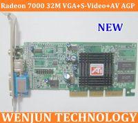 Wholesale Brand NEW ATI Radeon M VGA S Video AV AGP Graphic Video Card wholesaele form factory order lt no track