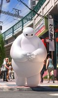big mascot costumes - 2015 newest styles real images suit Big Hero Baymax Mascot Costume Cartoon Adult Size EMS