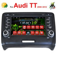 audi tt dvd - car dvd Din Android Car Radio for Audi TT DVD Player with GPS Navigation System Bluetooth TV CD G WIFI Touch Screen Car Audio Player