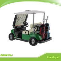 miniature golf - Miniature Golf Cart With Transparent LCD Digital Alarm Clock LCD Calendar for Birthday Gift