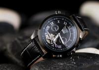 Vincitore JARAGAR multifunzione Tourbillon vigilanza meccanica automatica di lusso del Mens di marca della vigilanza 4 mani Data Reloj Hombre