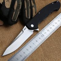 zero - Zero Tolerance ZT0454 Tactical Flipper folding knife Cr18MoV blade G10 handle Ball bearing hunting camping outdoors Knives tool