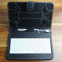 Cheap Newest Universal Tablet PC Cover Best Micro USB Port Keyboard Case