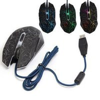 Wholesale 2014 Professional PC Optical USB Wired Gaming Game Mouse DPI Adjustable Button MICE For Sale