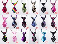 Wholesale dog pet necktie Tie bow
