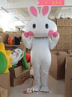 animated rabbits - White rabbit rabbit cartoon garment animated Mascot Costumes clothing walking performance clothing customization