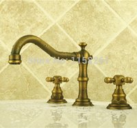 bathroom cost - Low Cost in Combo Sets Bathroom Basin Antique Faucet Bronze Brushed and Brass Body Mixer Tap ZLY