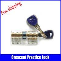 ab locks - Locksmith practice locks pick Transparent AB Kaba crescent lock tools cutaway professional locksmith supplies