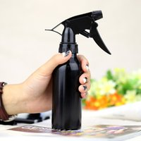 aluminum water bottle - Fashion Refillable Bottles ml Aluminum Spray Atomiser Trigger Head Bottle Liquid Makeup or Water Hair Salon Pot H13450