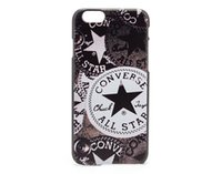 converse leather - For IPhone Plus Design Vintage Retro CONVERSE All Star Personalized PC Hard Case Leather Texture Case Back Cover For iPhone Plus